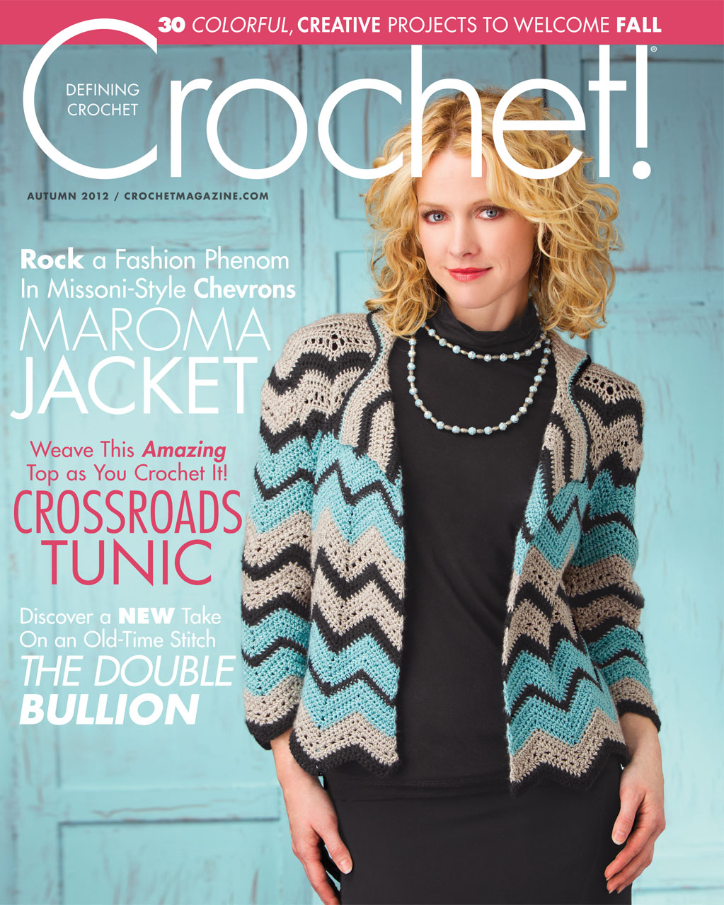 Learn How To Crochet Magazine : Autumn Crochet! magazine now on sale